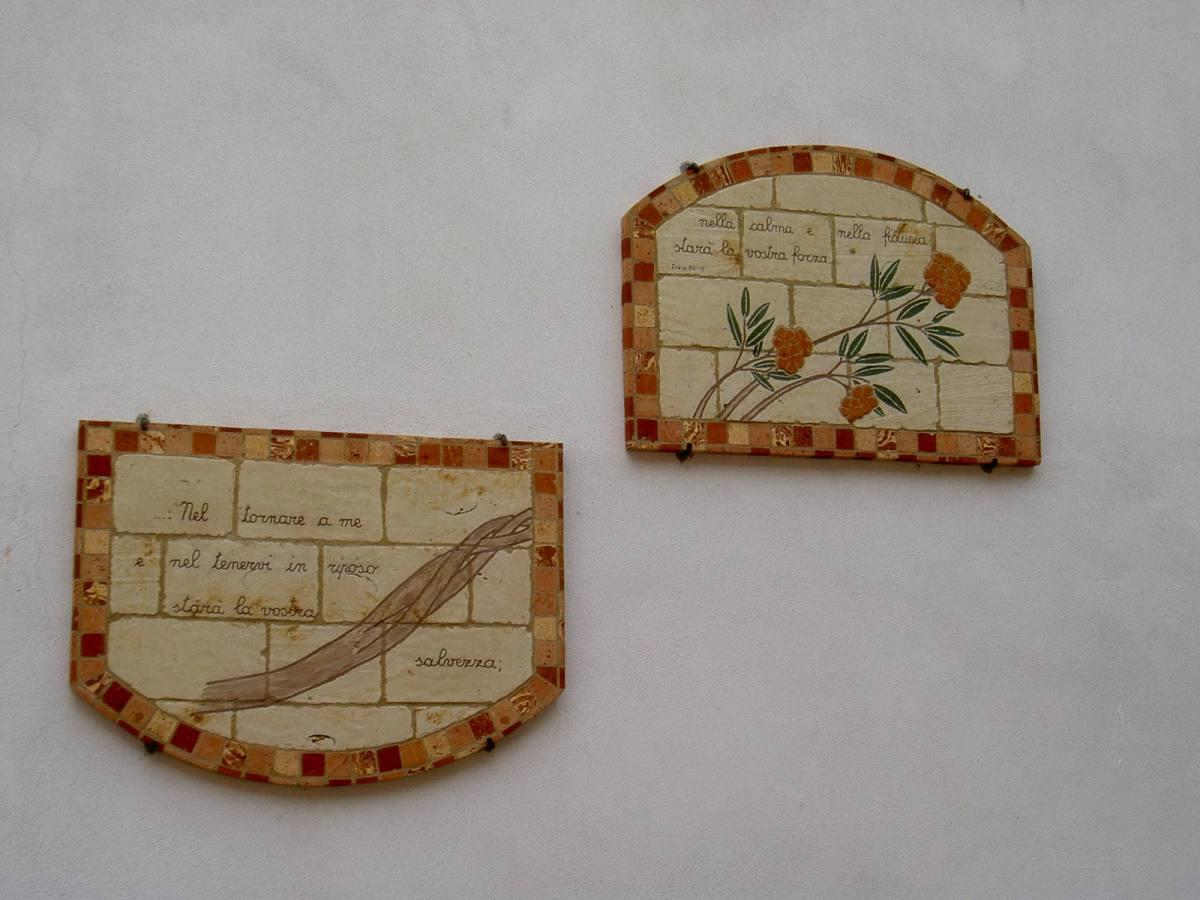 coppia pannelli esterni Oleandro con frase