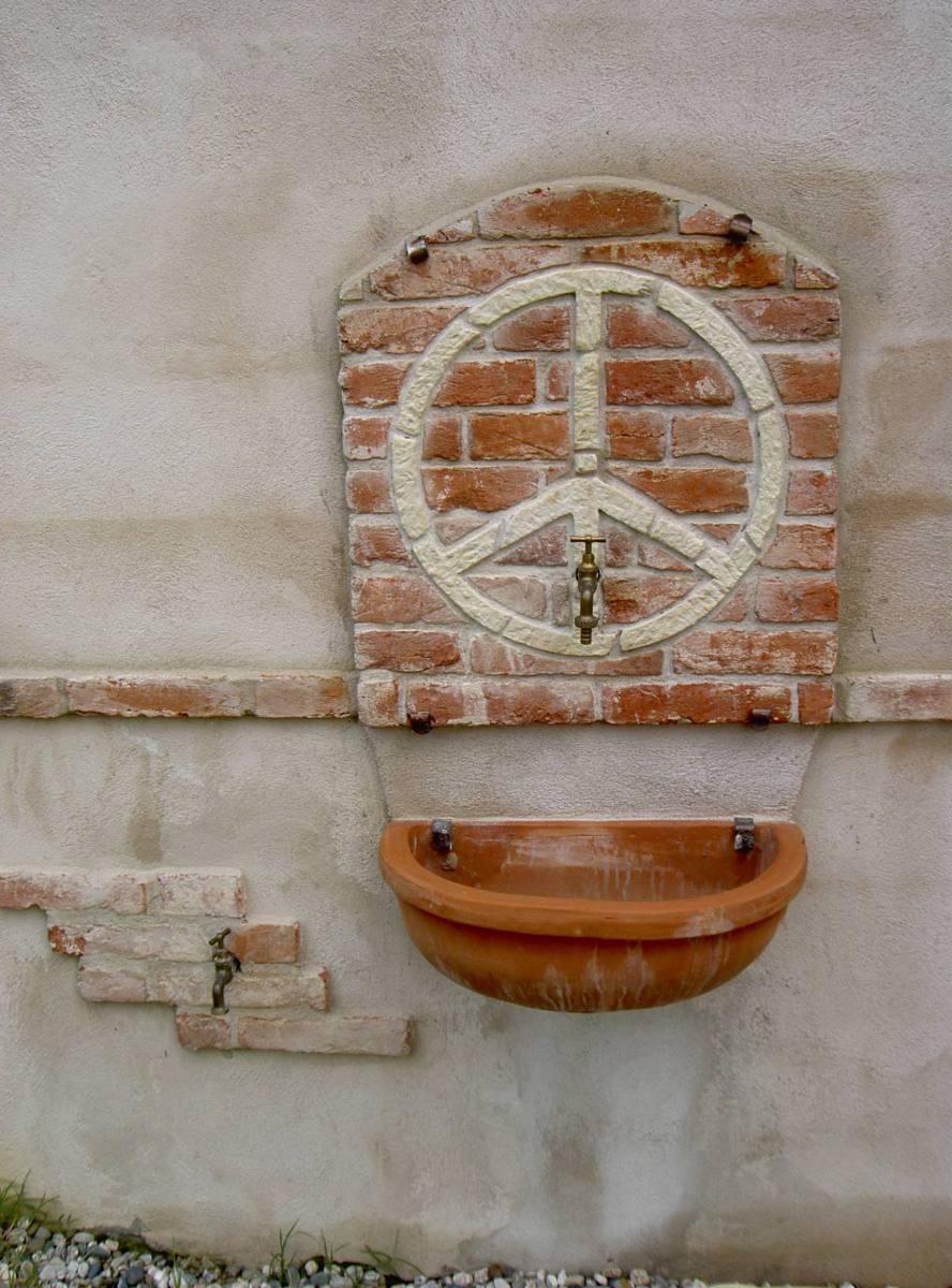 panello esterno finto muro